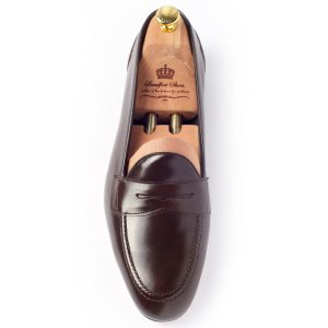 Style Lucky Box Calf Dark Brown