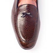 The Belgian Dark Brown Engraved Skin